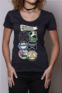Camiseta Restaurantes da Ficção