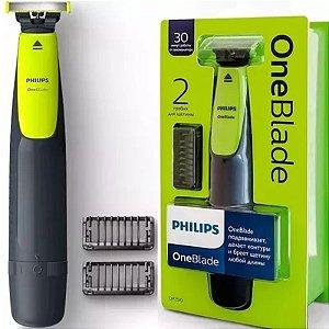 Barbeador Aparador Philips One Blade À Prova D Água Sem Fio