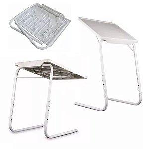 Mesa Dobrável Multiuso Portátil Notebook Bandeja 18 Posições