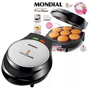 Máquina Cupcake , Pão De Queijo E Petit Gateau Mondial 1000w