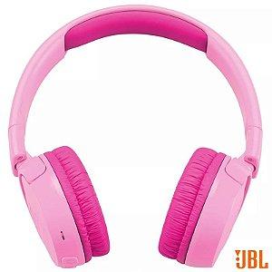 Fone De Ouvido Sem Fio Jbl Headphone Rosa 12 Horas Bateria