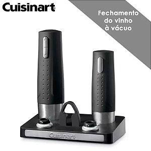 Abridor De Vinho Saca Rolha Elétrico Premium Cuisinart