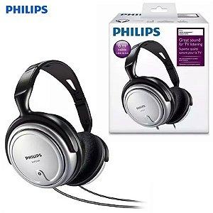 Fone De Ouvido Philips Cabo 6 Metros Headphone Profissional