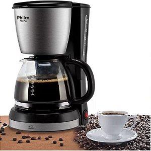 Cafeteira Philco Ph30 Plus 30 Cafés Capacidade De 1,5l Aço