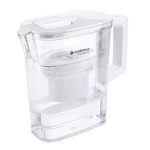 Purificador Água Jarra Portátil Cadence+filtro De Reposição