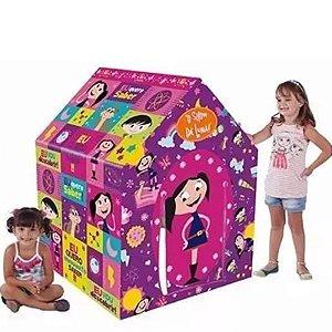 Barraca E Cabana Infantil Show Da Luna Rosa Casinha Rosa