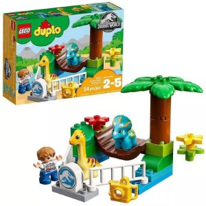 Lego ® Duplo Jurassic World Zoológico De Gigantes Mansos