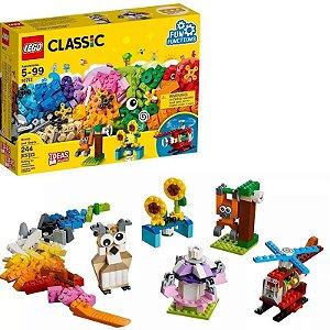 Lego Classic Peças E Engrenagens 10712 - 244 Peças