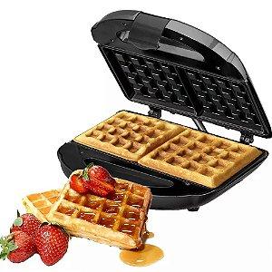 Máquina De Waffle Dupla Antiaderente Black Decker Garantia