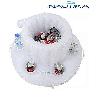 Bar Flutuante Boia Cooler Térmico Para Piscina Nautika