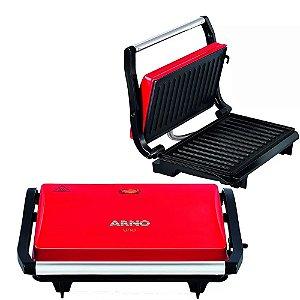 Grill Sanduicheira Arno Uno Press Inox 760w +coletor Gordura