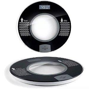 Balança Digital Banheiro Academia 180kg Design Premium Nks