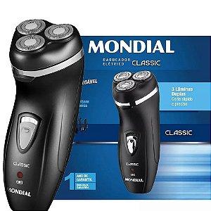 Barbeador Elétrico Mondial Classic Nbe-01 Preto Bivolt