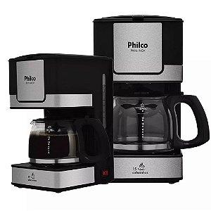 Cafeteira Elétrica Inox Philco 15 Cafés Ph16 Filtro Lavável