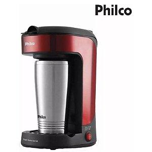 Cafeteira Philco Thermo Inox Red Com Copo Térmico Portátil