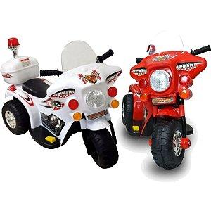 Moto Elétrica Infantil Até 25kg À Bateria Recarregável 3km/h
