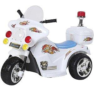 Mini Moto Elétrica Infantil Ate 17kg Com Farol 2,5km/h