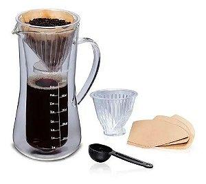 Kit Preparo Tradicional De Café Hamilton Beach Jarra 500 Ml 3 Anos Garantia