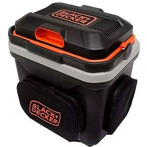 Mini Geladeira Para Automóvel 24 Litros 12v Black Decker