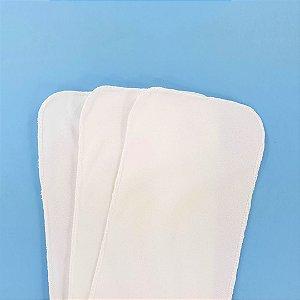Forrinho liner reutilizável para fralda ecológica - Kit com 3 unidades