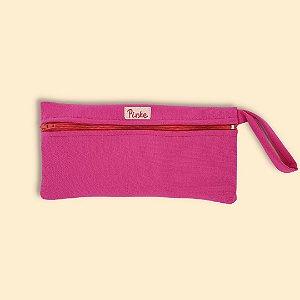 Bolsa impermeável para absorvente feminino - Rosa Pink