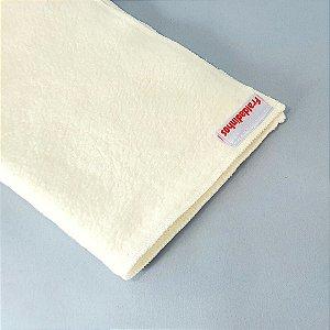 Absorvente para fralda ecológica - Melton - Modelo toalha - 4 camadas