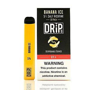 Descartavel - Drip Bar - Banana Ice - 50mg - 400 puffs