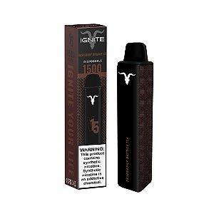 Descartavel - Ignite - Raspberry Orange Ice - V15 - 1500 puffs - 5% nic