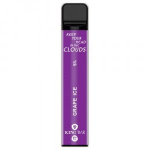 Descartavel - King Bar - Grape Ice - 800 puffs - 5% nic