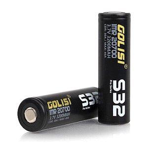 Bateria IMR 20700 30A 3200mAh Flat Top - Golisi