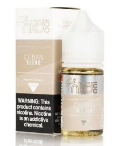 Naked Salt Cuban Blend 30ml