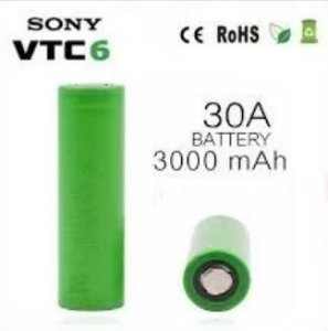 Bateria Sony VTC6 18650 3000mah 30A
