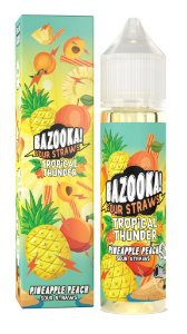 Bazooka Tropical Thunder - Pineapple Peach 60ml