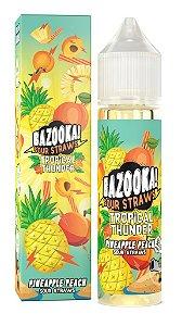 Juice - Bazooka - Tropical Thunder - Pineapple Peach - 60ml