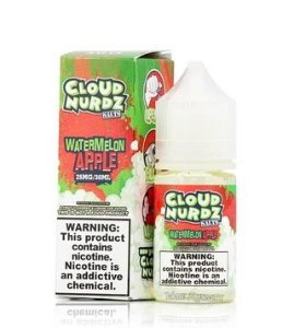 Cloud Nurdz Salt Watermelon Apple 30ml