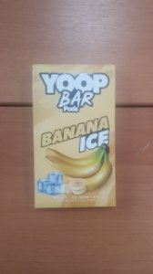 Mr Yoop Bar Pods Banana Ice 6% p/ JUUL