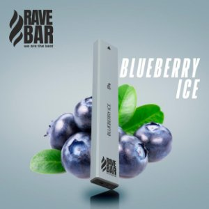 Descartavel - Rave Bar - Blueberry Ice - 5% mg - 400 puffs