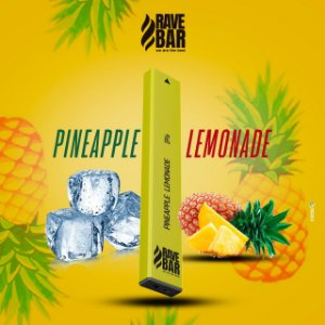 Descartavel - Rave Bar - Pineapple Lemonade - 5% mg - 400 puffs