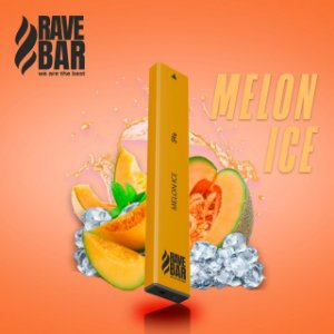 Descartavel - Rave Bar - Melon Ice - 5% mg - 400 puffs