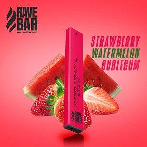 Descartavel - Rave Bar -Strawberry Watermelon Bubblegum - 5% mg - 400 puffs