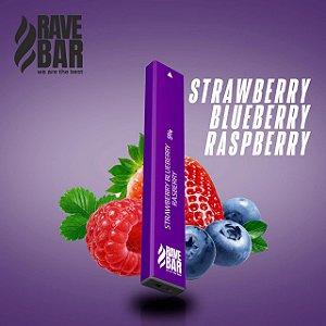 Descartavel - Rave Bar - Strawberry Blueberry Raspberry - 400 puffs