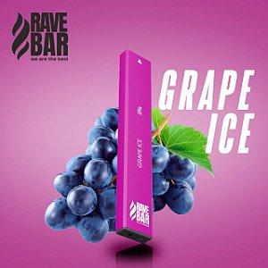 Descartavel - Rave Bar - Grape Ice - 400 puffs