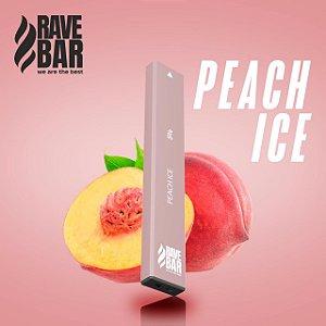 Descartavel - Rave Bar - Peach Ice - 400 puffs