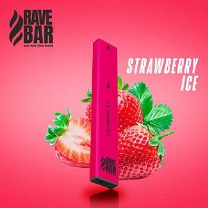 Descartavel - Rave Bar - Strawberry Ice - 400 puffs