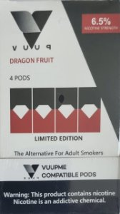 Pod - Vuup - Dragon Fruit - 6.5% - p/ Juul