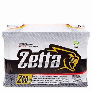 Bateria Zetta 60ah