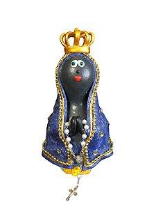 Nossa Senhora Aparecida Em Cabaça - Imagem Artesanal