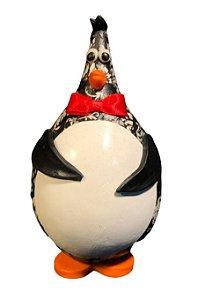 Pinguim Artesanal em Cabaça - Decoração Cozinha