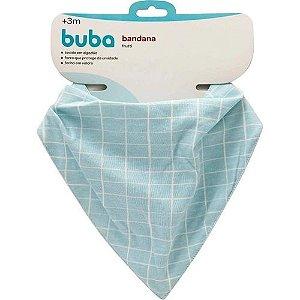 Babador e bandana Frutti Azul Buba Baby