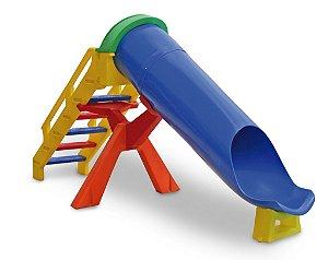Escorregador Toboágua Infantil Multicolor
